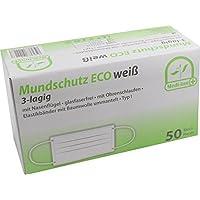 500 Stück Mundschutz Eco 3-lagig mit Nasenbügel mit Ohrenschlaufen TYP I von Medi-Inn (weiß) preisvergleich bei billige-tabletten.eu