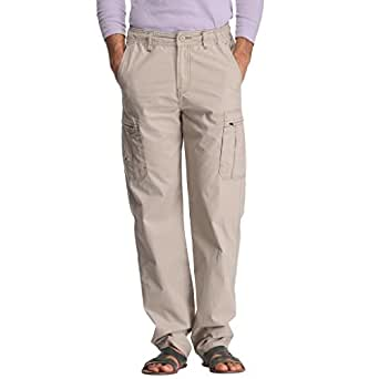 Bornfree Men's Cotton Cargo (PYJA5112_Silver_40)