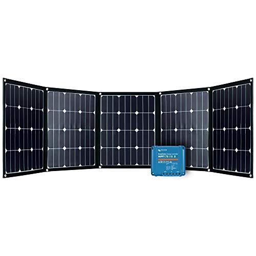 Offgridtec FSP-2 Ultra KIT 200W Faltbares Solarmodul mit Victron MPPT Smartsolar 75/15 Aufständerung integriert