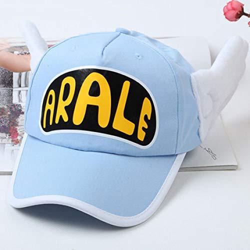 mlpnko Baumwollbaseballmütze New Twill Short Hat Wasserblau für Erwachsene -