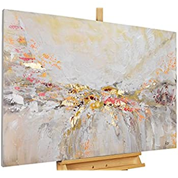 Handgemalte Bilder Auf Leinwand kunstloft acryl gemälde ruhe vor dem sturm 120x80cm original