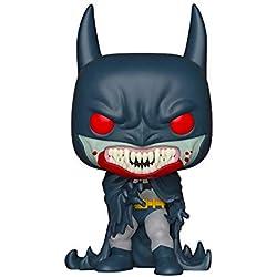 Funko- Pop Figura de Vinilo: Held 80th-Red Rain Batman (1991) Coleccionable, (37253)