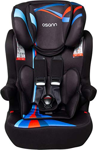 Osann Kindersitz I-Max SP Isofix Gruppe 1/2/3 (9-36 kg) Kinderautositz Blau