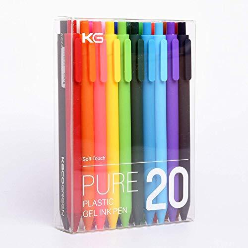 Bolígrafos de gel retráctiles KACO