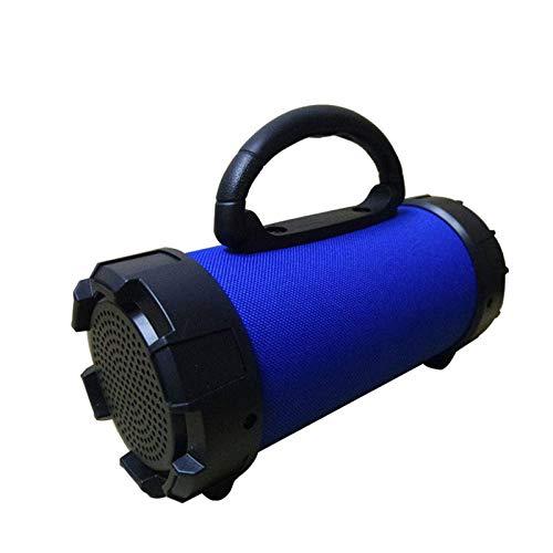qiyanNew Haut-Parleur Bluetooth Enceinte sans Fil d'extérieur avec Lampe de Poche et Support pour poignée TF Card/Disque USB/aux 5 Couleurs Haut-parleurs d'extérieur ad