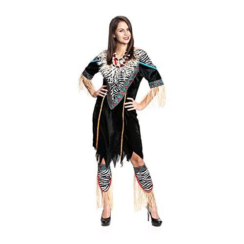 (Kostümplanet Afrikanerin-Kostüm Damen Afrika Kostüm Größe 40/42)