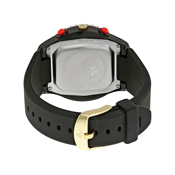 adidas 'Sprung' reloj de cuarzo de plástico y silicona, color