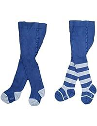 Babystrumpfhose für Jungen Komfort Standard Baumwolle RA-25W 2 er Set blau Gr. 56/62