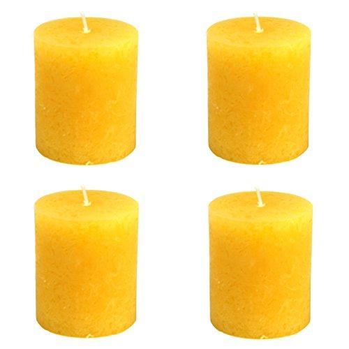 4x-rustic-stumpen-kerzen-gelb-oe-68-x-80mm-4er-set-stumpenkerzen-stumpenkerze-rustik-stumpenkerzen-r