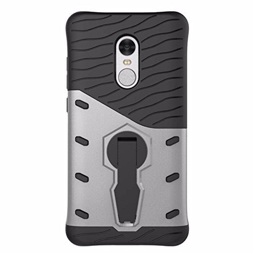 brand new 436b1 3626b 55% OFF on Tarkan Xiaomi Redmi Note 4 Back Case, 360 Degree Kickstand  Original Sniper Cover [Silver] Buy Tarkan Xiaomi Redmi Note 4 Back Case,  360 ...