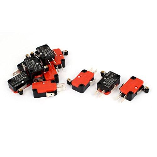 10PCS V-155-1C25 Sprungkontakt- Push Button SPDT Micro-Endschalter