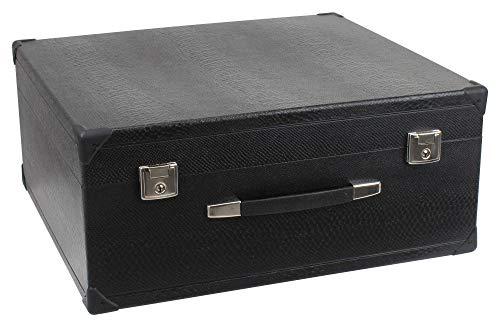 Alpenklang 120-Bass Akkordeon Koffer Größe II (Tragekoffer für 120-Bass Akkordeons, Holzkern, Kunstlederbezug)