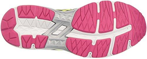 Asics Gt-1000 5 Gs, Scarpe da Corsa Unisex – Bambini Nero (black/safety Yellow/pink Glow)