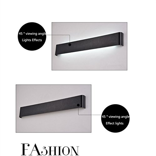 TOYM-LED Moderne minimaliste lampe de mur miroir avant lampes personnalité