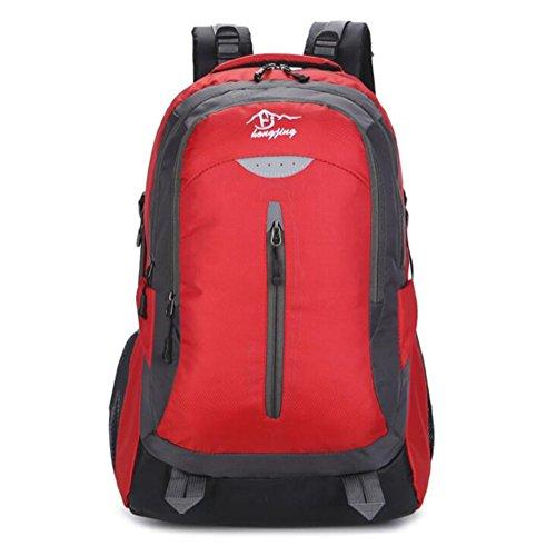 Wmshpeds Borsa a tracolla uomini femmina marea coreana borsa casual sports business borsa per computer outdoor alpinismo zaino borsa A