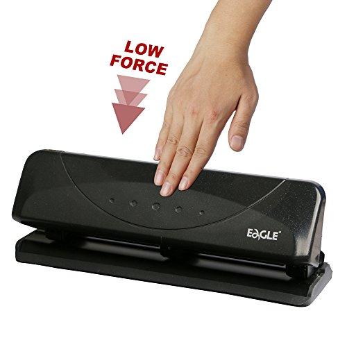Eagle - Perforadora de escritorio con 3 agujeros