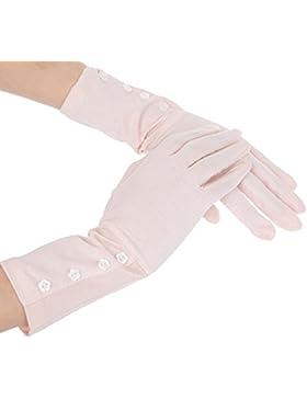 Kenmont al aire libre de sol de manga corta para mujer diseño de Luca reductor de algodón UV guantes de ciclismo...