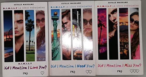Did I Mention I Love You ? DIMILY Tomes 1 à 3 3 Livres Brochés