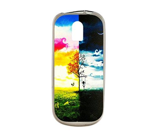 Oujietong Custodia per Nokia 130 nokia130 Custodia TPU Soft Case Cover SJBH