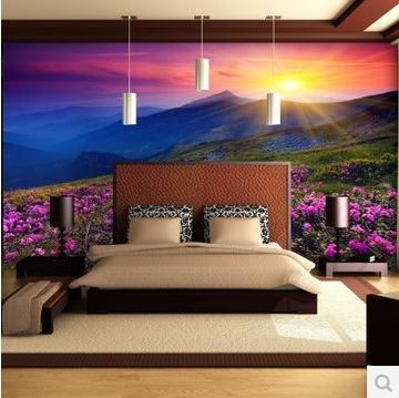HUANGYAHUI murale Grande Murales, Camera Da Letto, Televisione ...