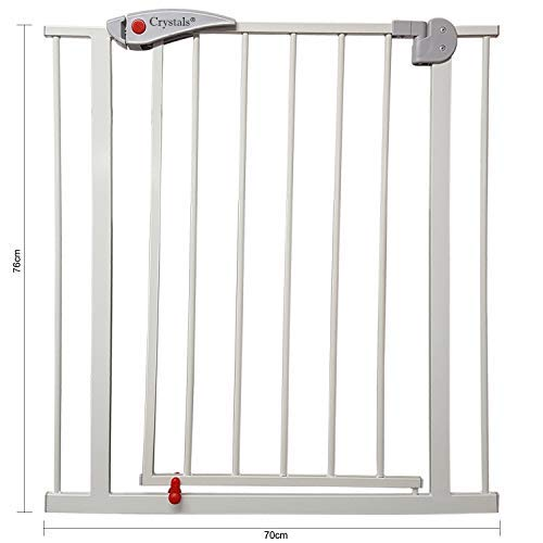 Baby Safety Gate Pet Dog Barrier for Home Stair Doorway Safe Secure Guard by Crystals®  Denny Shop