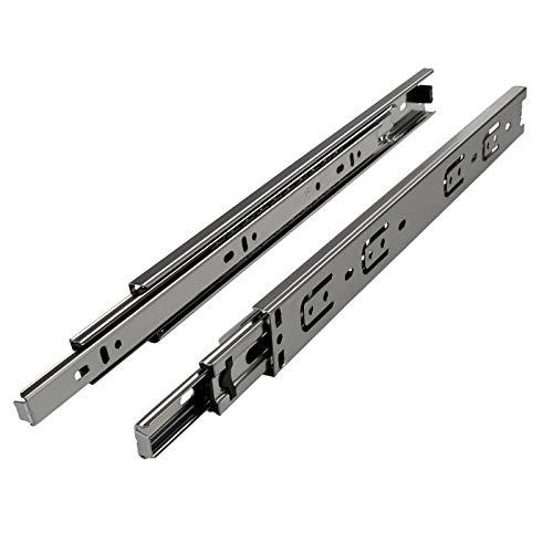 1 Paar (2 Stück) Vollauszüge H 35 / L 350 mm/Tragkraft 30 Kg Schubladenschiene Vollauszug Teleskopschiene Schubladenschienen von SO-TECH