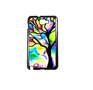Krazycases Tree Splash Back Shell Cover For Samsung Galaxy Note 2