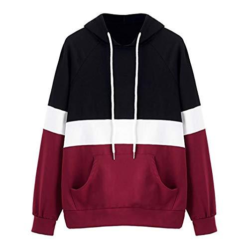 Lucky mall Frauen Mode Hoodie Sweatshirt Kapuzenpullover Bluse, Hoodie Kapuzenpullover Kapuzen-Sweatshirt mit Samt