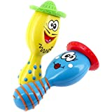 ZinZin Instruments S12860 - Maracas de juguete para bebés, color azul y amarillo