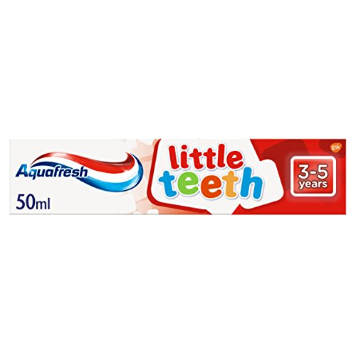 Aquafresh Little Teeth Toothpaste for Kids, 50 ml, 3-5 Years
