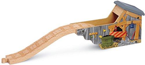 Fisher-Price Mattel Y4415 - Steinbruch-Tunnel aus Holz -