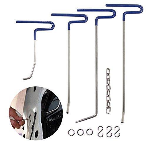 Mookis PDR Werkzeuge Paintless Body Repair, Body Kit 9PCS Ohne Farbe, Ausbeulen und Reparatur Hagel