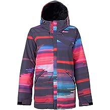 Burton Cadence – Cazadora de snowboard, otoño/invierno, mujer, color Coral Flynn Glitch, tamaño M