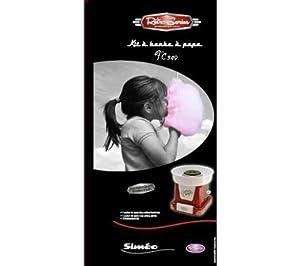 SIMEO Kit algodón de azúcar FC349 (FC349) de SIMEO