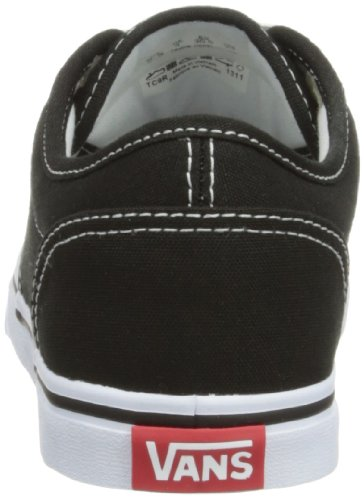 Vans Damen Atwood Low Canvas Sneakers Schwarz (Blk/Wht 187)