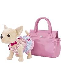 Chi Chi Love - Peluche con bolso, color rosa claro (Simba 5895105)