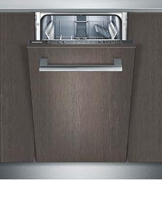 siemens sr65e000eu vollintegrierbarer geschirrsp ler einbau 45 cm a a 220 kwh jahr 9. Black Bedroom Furniture Sets. Home Design Ideas