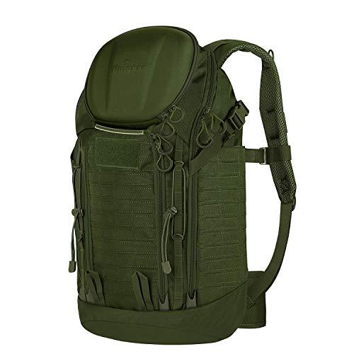 Unigear Wanderrucksack Outdoor, 35L Erwachsene Taktischer Trekkingrucksacke Reiserucksack (Grün)