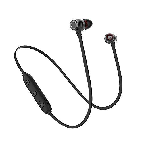 FENG X5 Casque Bluetooth,Bluetooth 4.2,Casque de musique stéréo,Technologie de bruit APTX et CVC 6.0,IPX6 Imperméable,Sport,Mode,Jeu très long,Convient pour iPhone,Android,Expérience de qualité