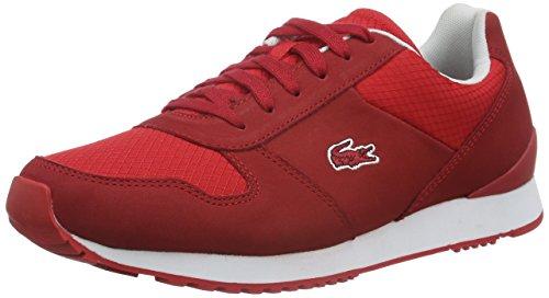Lacoste L!ve, Trajet, Sneakers da Uomo, Rosso (red),