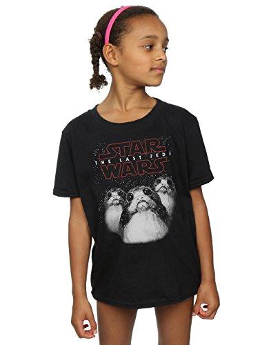 Star Wars Girls The Last Jedi Porgs T-Shirt