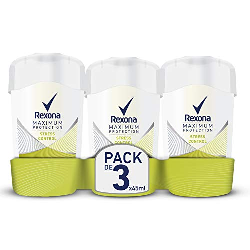 Rexona Déodorant Femme Stick Anti Transpirant Maximum Protection 45ml - Lot de 3