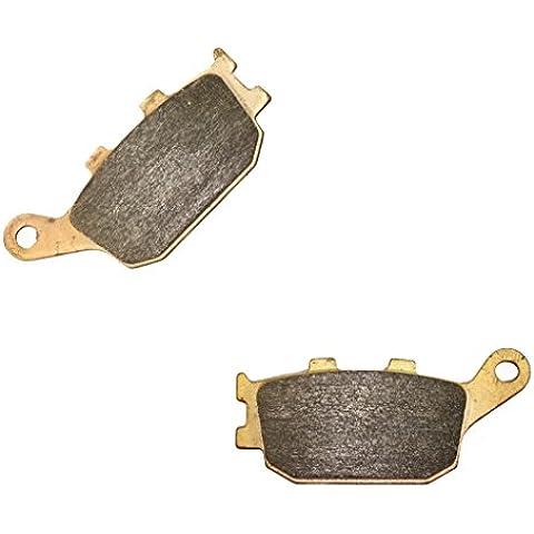 Trasero Sintering Double-H Disco Juego de pastillas de freno for HONDA Street CBR600 CBR600RR CBR 600 RR Radial caliper 05 06 2005 2006 1 Pair(2 Pads)