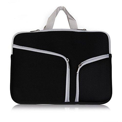 """Preisvergleich Produktbild elecfan ®Apple Macbook Pro / Macbook Unibody 15"""" 15 Zoll Laptophülle Aktentasche Handtasche (15 inch,  Schwarz)"""