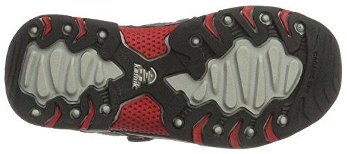 Kamik Wildcat, Chaussures de Randonnée Basses mixte enfant Grau (CHA/GREY-CHARBON/GRIS)