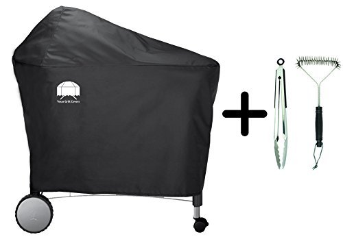 Texas Grill Covers 7455 Premium Cover for Weber Performer Including Brush...