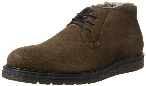Boss Orange Tuned_desb_sdfur 10201446 01, Desert Boots Homme Marron (Dark Brown)