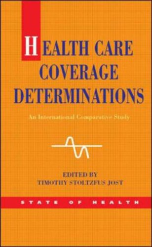 Health Care Coverage Determinations: An International Comparative Stud PDF Books