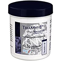 TRIAMIT B Niacinamid 50 mg Kapseln 180 St preisvergleich bei billige-tabletten.eu