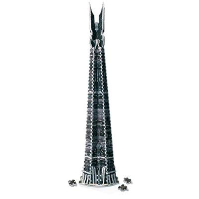 Wrebbit W3D4001 - Señor de los Anillos puzzle en 3D, diseño de Torre de Orthanc de Wrebbit